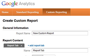Conversion Optimization - Custom reports GA